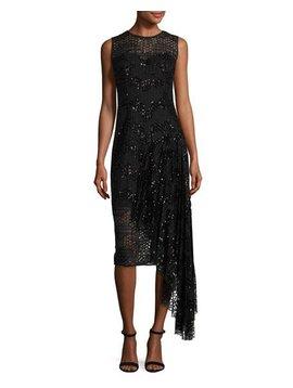Milly Katia Dress Black