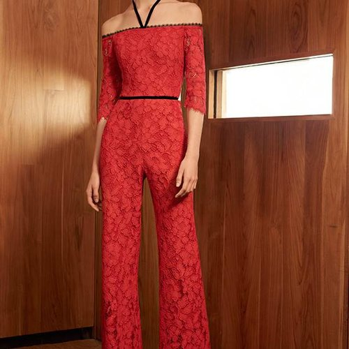 Alexis Joaquin Off Shoulder Jumpsuit