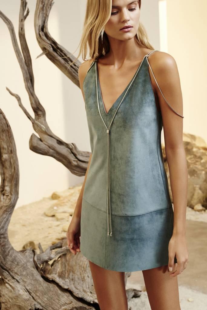 Alexis Zoya Leather Dress