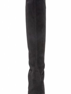 STUART WEITZMAN Keenland Suede Boots in Black