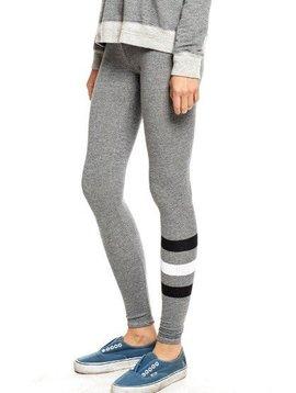 SUNDRY Heather Grey Stripe Yoga Pant