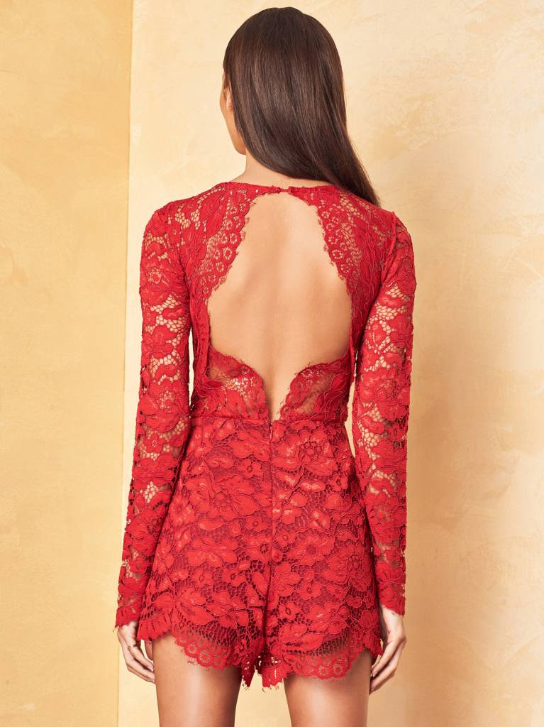 Lovers + Friends Eve Romper