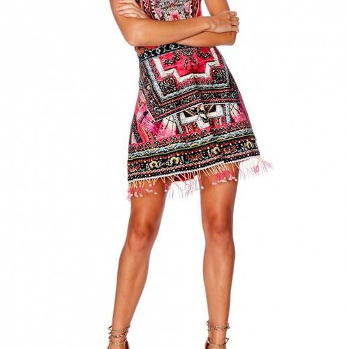 Camilla Camilla Embellished Aline Dress