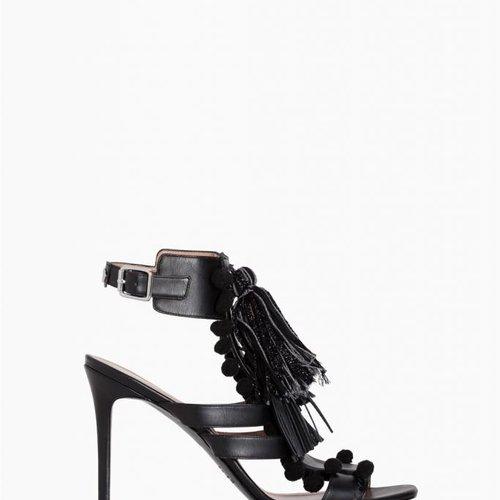 TwinSet Nero Stone Sandal