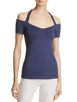 Bailey 44 Off-The-Shoulder Halter Tow In Top