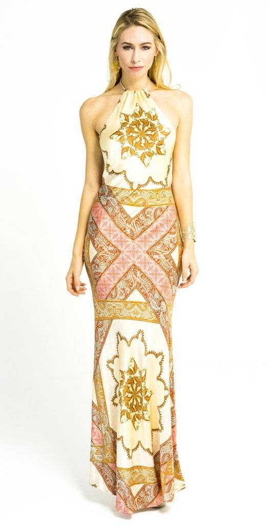Trisha Paterson Sienna Long Dress