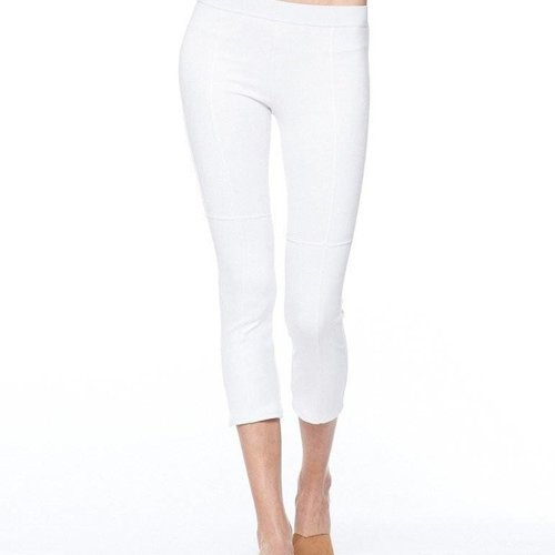 David Lerner Micro Suede Seem Legging in Pearl