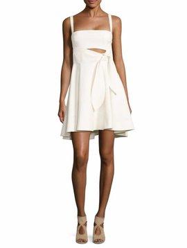 Cinq á Sept Nyma Dress in BURGUNDY