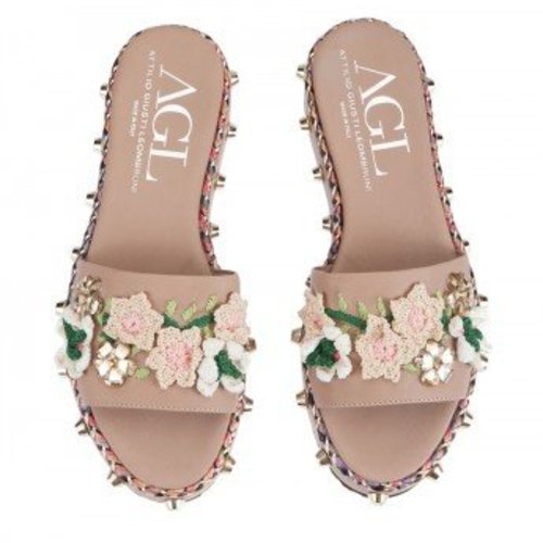 AGL Sandal Smoo-Smoo in LIGHT PINK