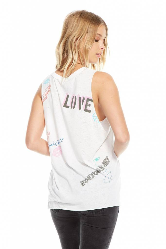 Chaser Hi Lo Muscle Tee