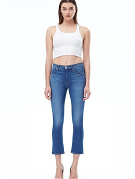 Hudson Harper High Waisted Crop Jeans