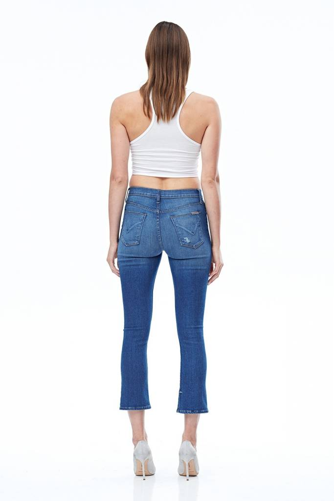 Hudson Harper High Waisted Crop Jeans