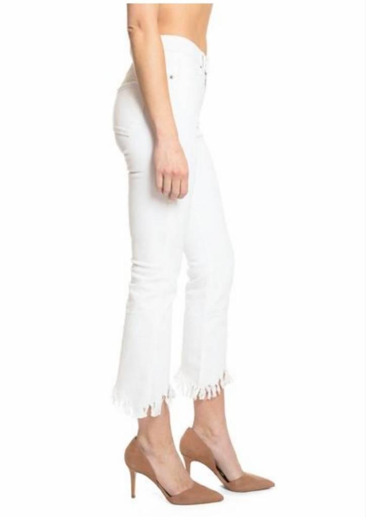 PRPS White Capri Jeans