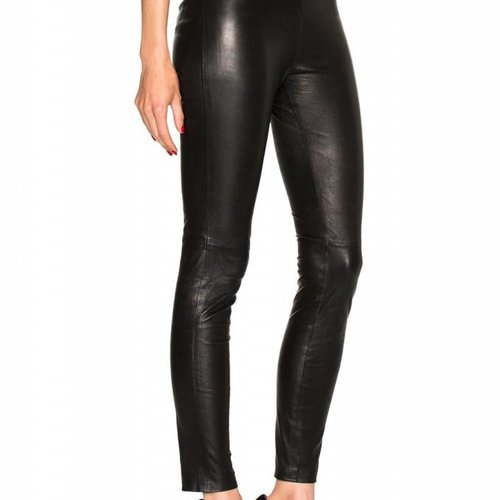 ThePerfext High Waisted Leather Legging