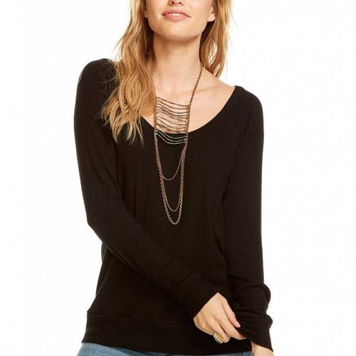 Chaser Love Rib Scoop Neck