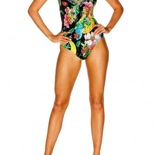Camilla Animal Instinct V-Neck One Piece