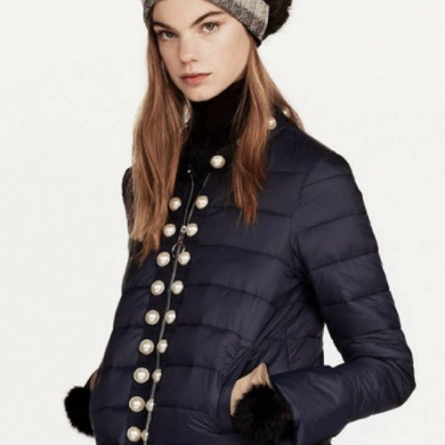 Twin Set Padded Jacket-Black