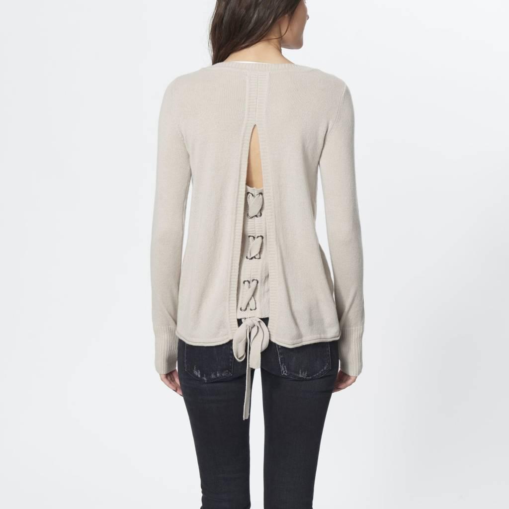 ROI Corset Back Sweater