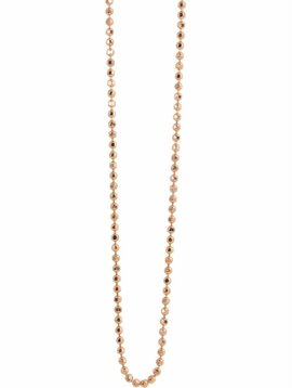 Julez Bryant 14K 1.0MM DIAMOND CUT BALL CHAIN