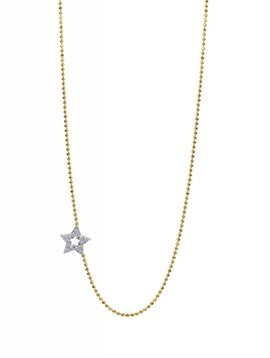Julez Bryant Paved Star Chain 15-14k