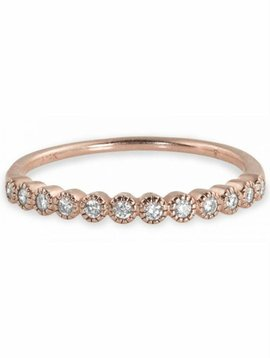 Julez Bryant 14K Half Eternity Band