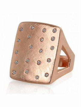 Julez Bryant No.2 Ring w Scattered Diamonds