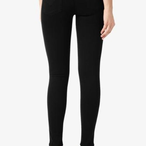 Hudson Nico Midrise Super Skinny in Black