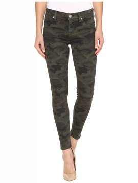 Hudson Nico Midrise Ankle Super Skinny Jeans in Camo