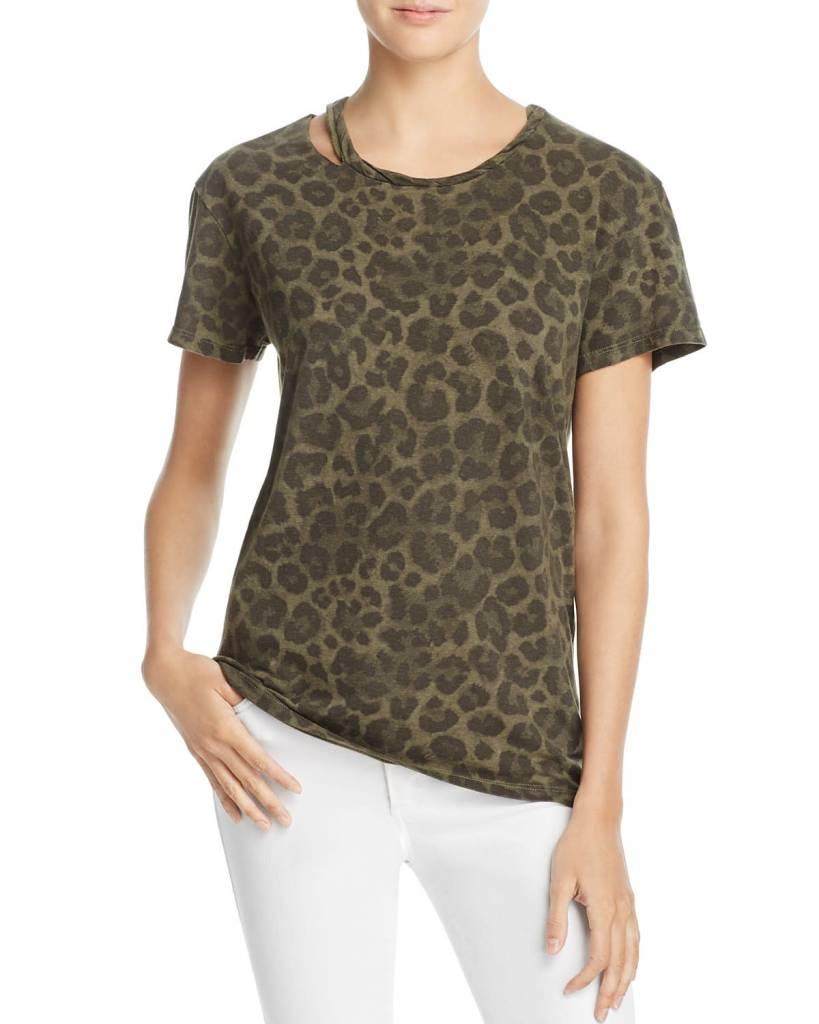 Pam & Gela Leopard Print Tee