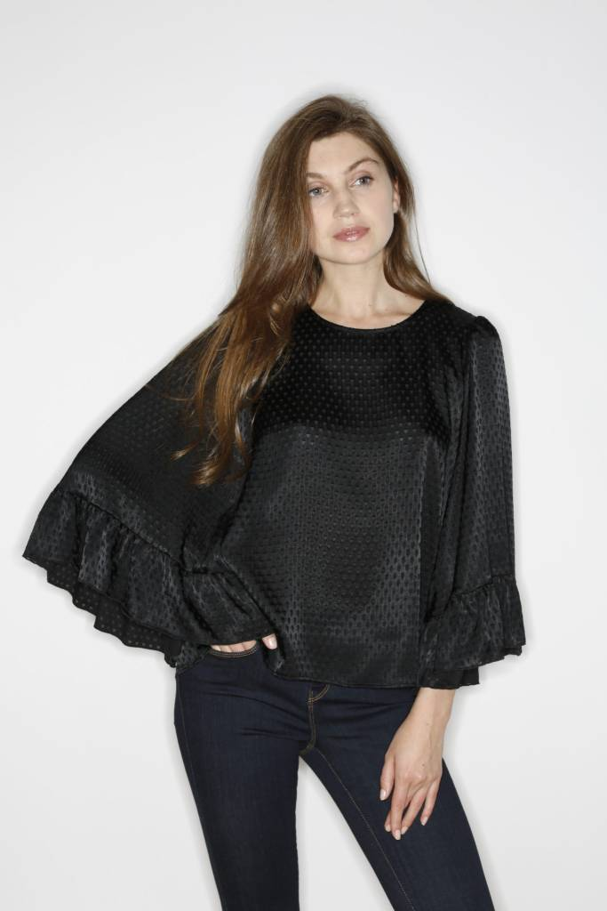 Drew Reagan Top in Black