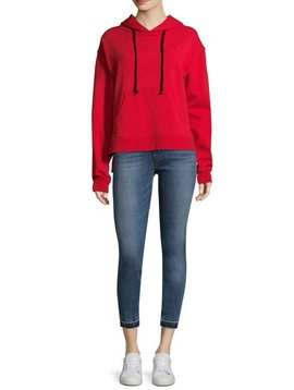 Hudson Classic Pullover Cotton Hoodie in Lush
