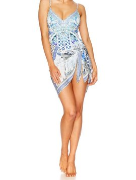 Camilla Salvador Summer V-Neck One Piece W Tucks
