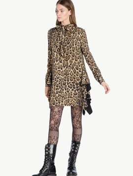 Twin Set Leopard Print Dress