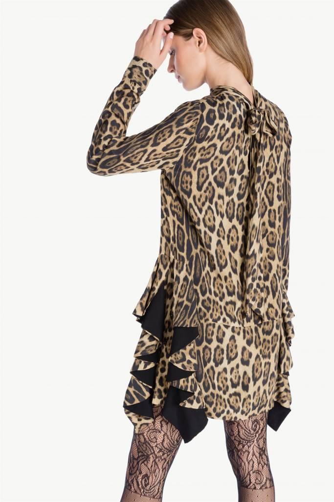 Twin Set Leopard Print Dress