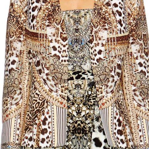 Camilla Jacket W/ Removable Collar