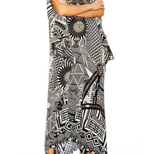 Camilla Slit Front & Sleeve Kaftan
