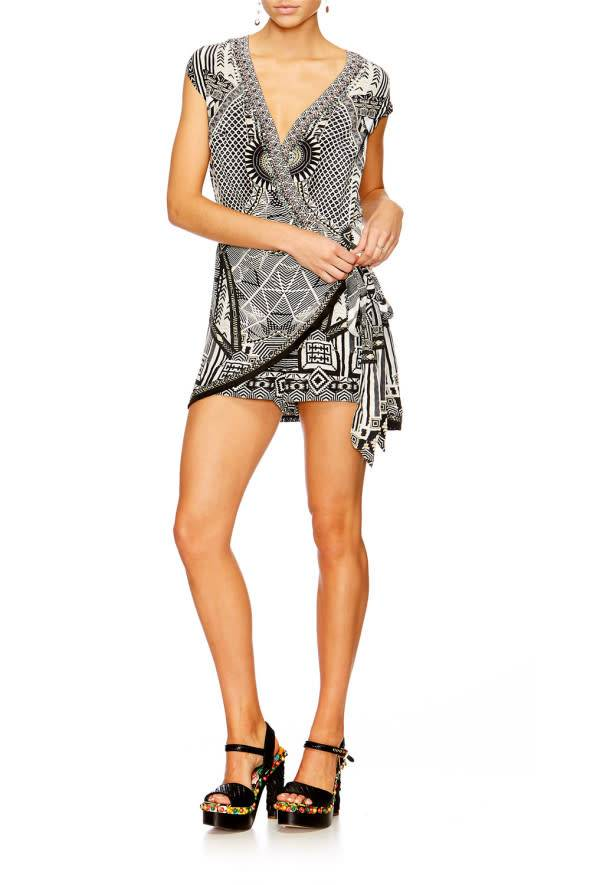 Camilla Cap Sleeve Playsuit