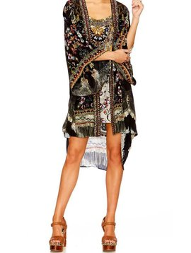 Camilla Kimono W/ Tie Belt