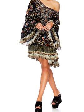 Camilla A Line Frill Dress