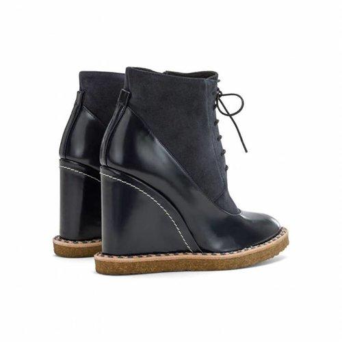 Paloma Barcelo Aspen Navy Boots