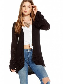 Chaser Bell Sleeve Open Cardigan