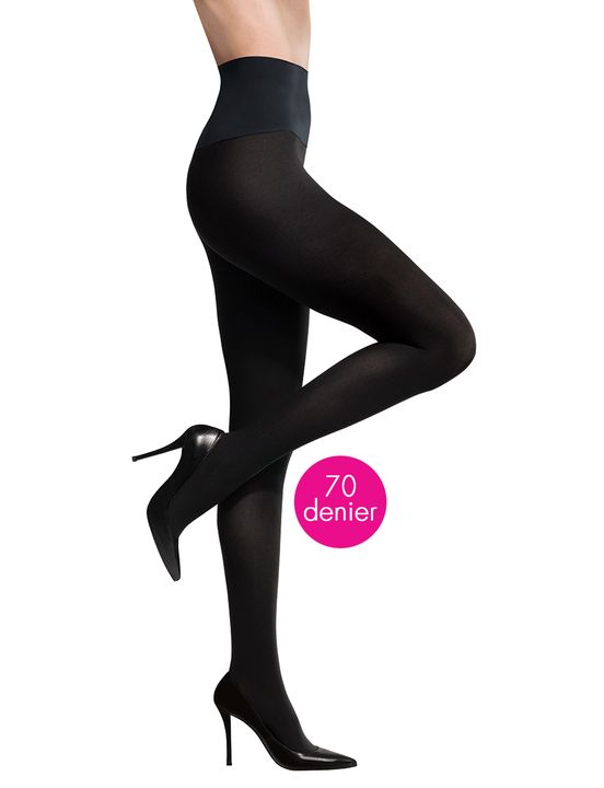 Commando Ultimate Opaque Tight in Black