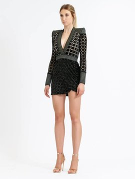 ZHIVAGO Shadow Lounge Mini Dress