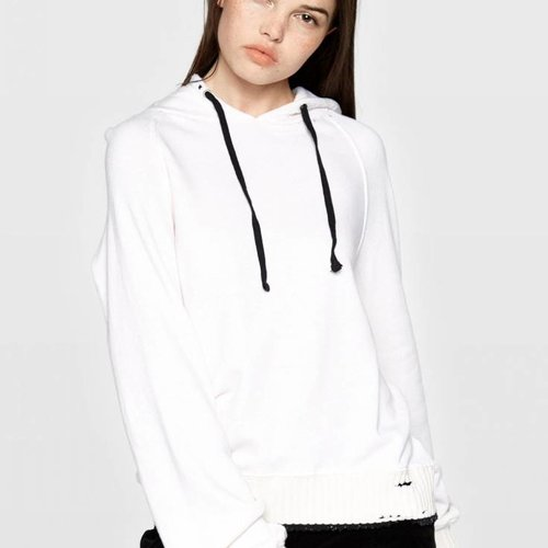 Pam & Gela Hollywood Rib Hoodie w/ Tipped Rib
