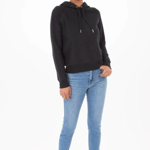 Z SUPPLY The Loft Pullover Hoodie in Black