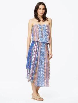 Ramy Brook Printed Lisanne Dress in ORANGE