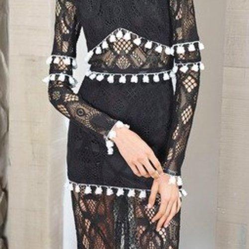 Alexis Callie Dress Black Lace