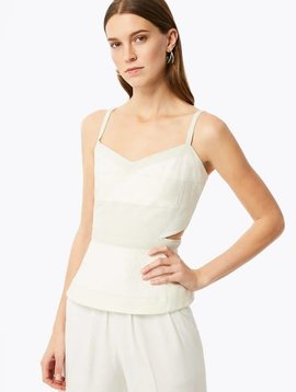 Ramy Brook Stassi Top in Ivory