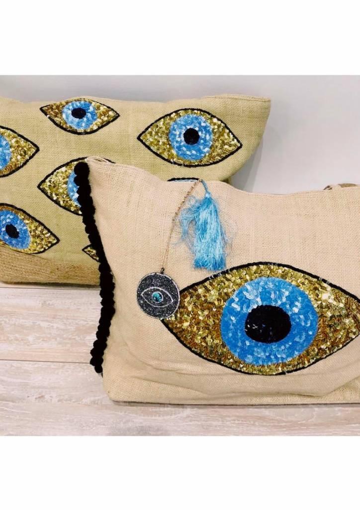 Tiana Evil Eye Tote