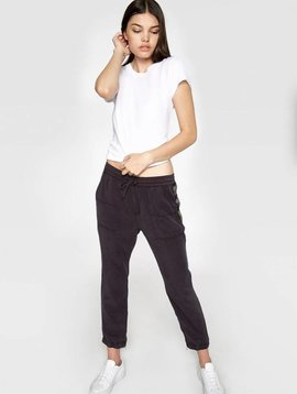Pam & Gela Tencel Pant w/ Beaded Trim